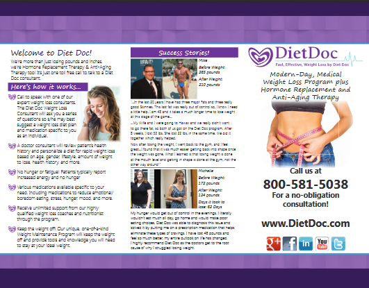 Diet Doc Brochure front