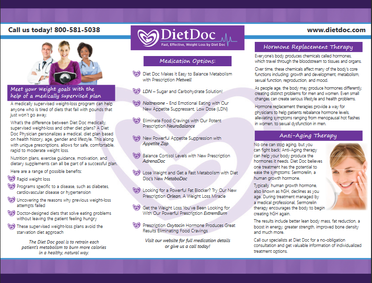 Diet Doc Brochure - back