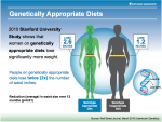 Genetic testing for increased weight loss - premium