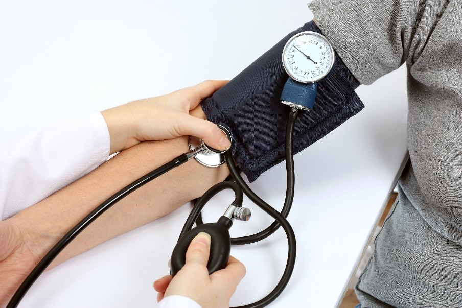 High blood pressure weight loss