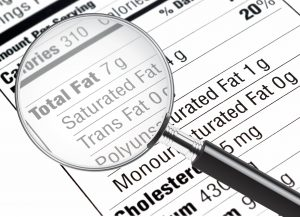 learning how to read food labels for weight loss.